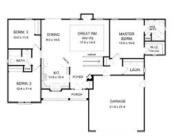 Open Kitchen Floor Plans Pictures Best 25 Simple Floor Plans Ideas On Pinterest Simple House