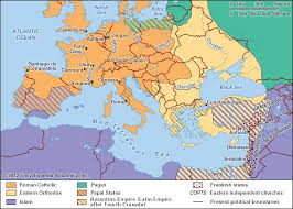 non Catholics in which  middot  The extent of Christianity during the period of the Crusades