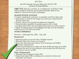 receptionist resume summary hotel receptionist cover letter uk cover letter example for receptionst cover letter for a receptionist icover org uk pinterest cover letter