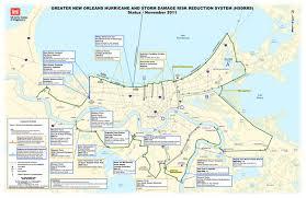 Ninth Ward New Orleans Map by New York State Marine Education Association Restoration Efforts