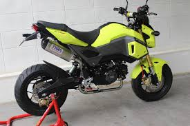 honda msx125sf grom tyga performance