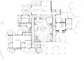 100 house plans with a courtyard casa di lusso french