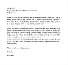 Reference Letter For Masters Admission   Cover Letter Templates Cover Letter Templates