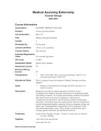 Medical Assistant Qualifications Resume  good medical assistant     happytom co Sample medical assistant resume with externship   Goresumepro com   medical assistant qualifications resume