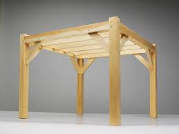 Timber Frame Pergola by Tim Casson Timber Frames