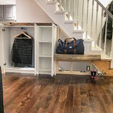 ikea media center hack billy bookcase ikea hack front hall closet with live edge wood