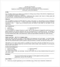Powerpoint Resume Sample