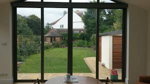 electric roller blinds covering bifold u0026 patio doors