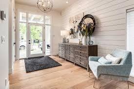 Farm Style Living Room by Calgary Home Radiates With Fresh Modern Farmhouse Style