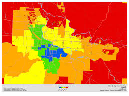 Springfield Oregon Map by Lindholm Company Blog 2010 Oregon Post Election Analysis