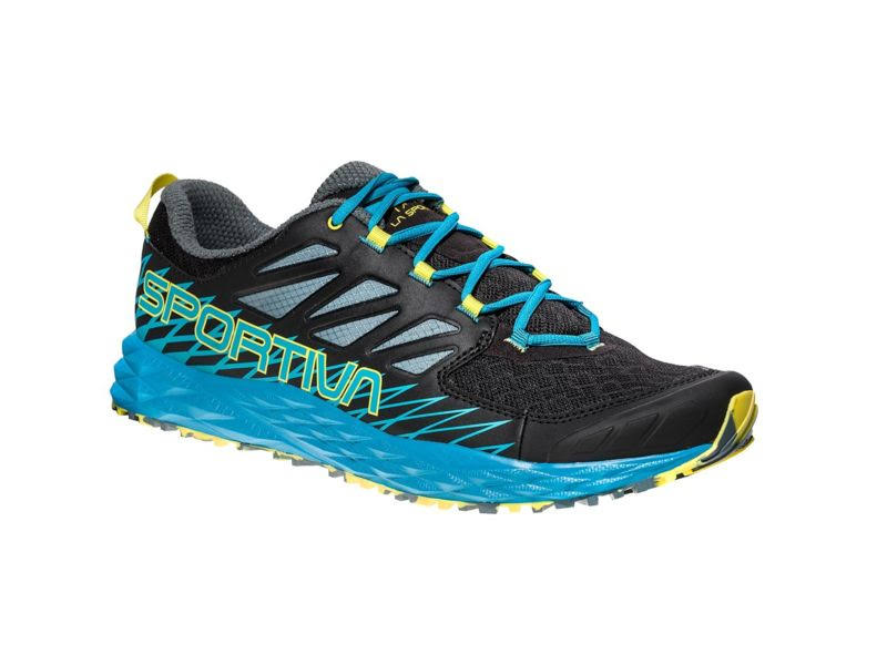 La Sportiva Lycan Trail Running Shoe Black/Tropic Blue 44.5 36K-999614-44.5