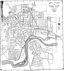 Ny County Map 1926 Glens Falls Map Records Center Warren County Ny