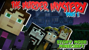 the murder mystery minecraft story mode ep 6 1 youtube