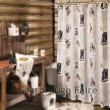 Moose Bathroom Accessories by Moose Bear Shower Curtain Foter