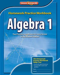 algebra   textbook mcgraw hill algebra   on line