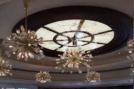 illuminated white onyx ceiling panels gpi design