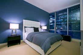 Navy Blue Wall Bedroom Bedroom Navy Blue Bedroom Colors Painted Wood Decor Piano Lamps