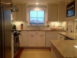 luxury glass subway tile backsplash kitchen home design image