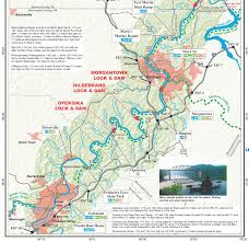 Map Of The Ohio River by Pennsylvania Water Trail Guides And Maps