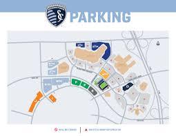 Chicago Parking Map by Children U0027s Mercy Park Parking Sporting Kansas City