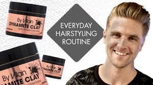 Mens Hairstyles For Business Professionals by Emil U0027s Everyday Hair Styling Routine Men U0027s Hairstyle By