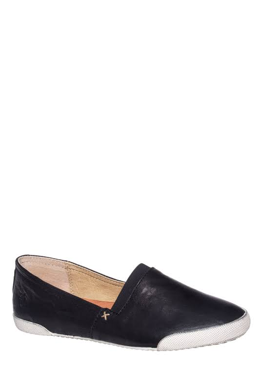Frye Melanie Slip On Casual Boots Black 9 3471146-BLK-9