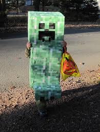 Halloween Minecraft Costume Minecraft Creeper Halloween Costume