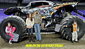 monster truck shows in michigan monster jam fun mom on the go in holy toledo