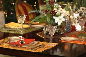 amazing easy christmas table decorating ideas with white candle