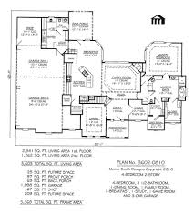 House Plans 2 Story by Beautiful House Floor Plans 4 Bedroom 2 Bath Plan 2247 S For
