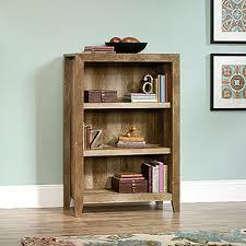 Sauder Black Bookcase by Sauder Dakota Pass Craftsman Oak Open Bookcase 418531 The Home Depot