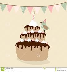 Card Invitation Birthday Cake Invitation Card Stock Photo Image 25090070
