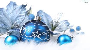 Christmas Tree Decorations Blue And Silver Blue Christmas Ornament Backgrounds U2013 Happy Holidays