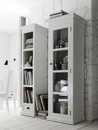 tall narrow white bookcase doherty house tall narrow bookcase