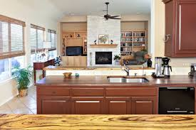 Zebra Wood Kitchen Cabinets Zebrawood Wood Countertop Photo Gallery Devos Custom Woodworking