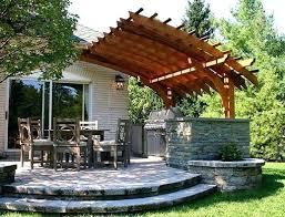 Deck Pergola Ideas by Backyard Pergola Designs Easy Steps For Building A Deck Pergola