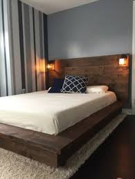 Diy Platform Bed Frame Designs by Diy Platform Bed With Floating Night Stands Platform Beds
