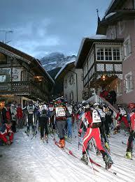 %name V Trofeo San Nicolò, sci alpinistica in notturna da Canazei al Pordoi