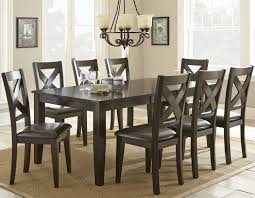 Steve Silver Dining Room Furniture Steve Silver Crosspointe 9 Piece Dining Set With 18