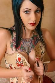 chest tattoos for women