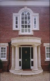 interior modern white front porch portico design ideas with white