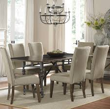 dining room sets with fabric chairs amusing design italian dining
