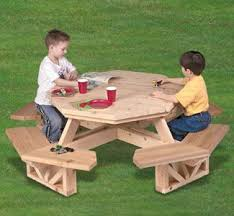 best 25 kids picnic table plans ideas on pinterest kids picnic