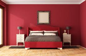 Red Bedroom by These Are The Worst Paint Colors You Should Never Use In Small Spaces