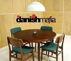Teak Dining Room Set Chair Mid Century Danish Modern Teak Dining Complete Set Table 6