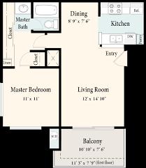 evergreen apartments floorplans