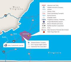 Roanoke Virginia Map by Roanoke Map Center