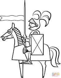 knights coloring pages free coloring pages
