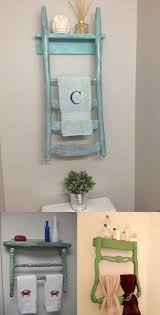 Diy Ideas For Bathroom by Best 25 Old Chairs Ideas On Pinterest Towel Racks For Bathroom