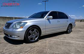 lexus ls 430 park assist 2006 lexus ls 430 silver with black leather overton automotive